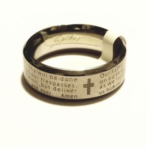 New stainless steel ring size 8-13